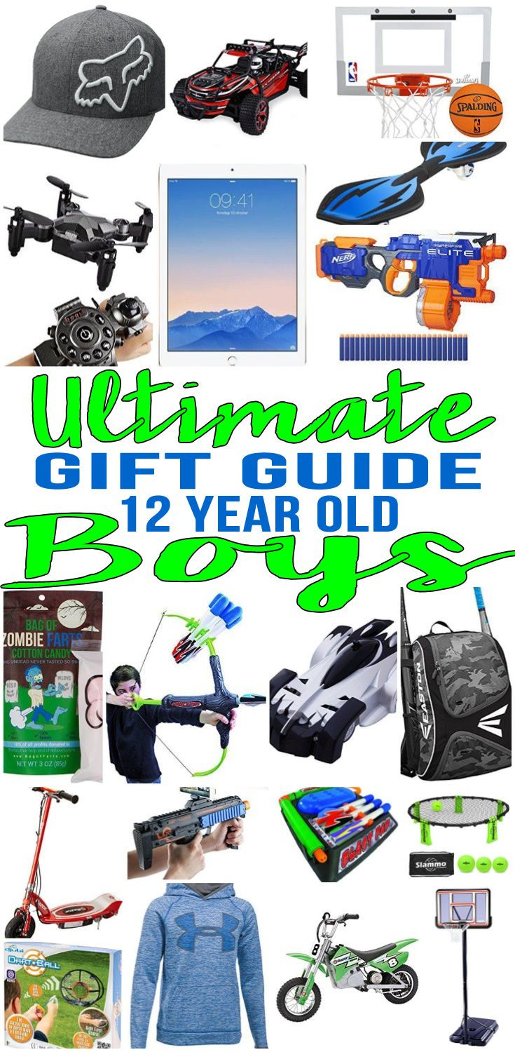 12 Year Old Boy Birthday Gifts  Pin on Gift Guides