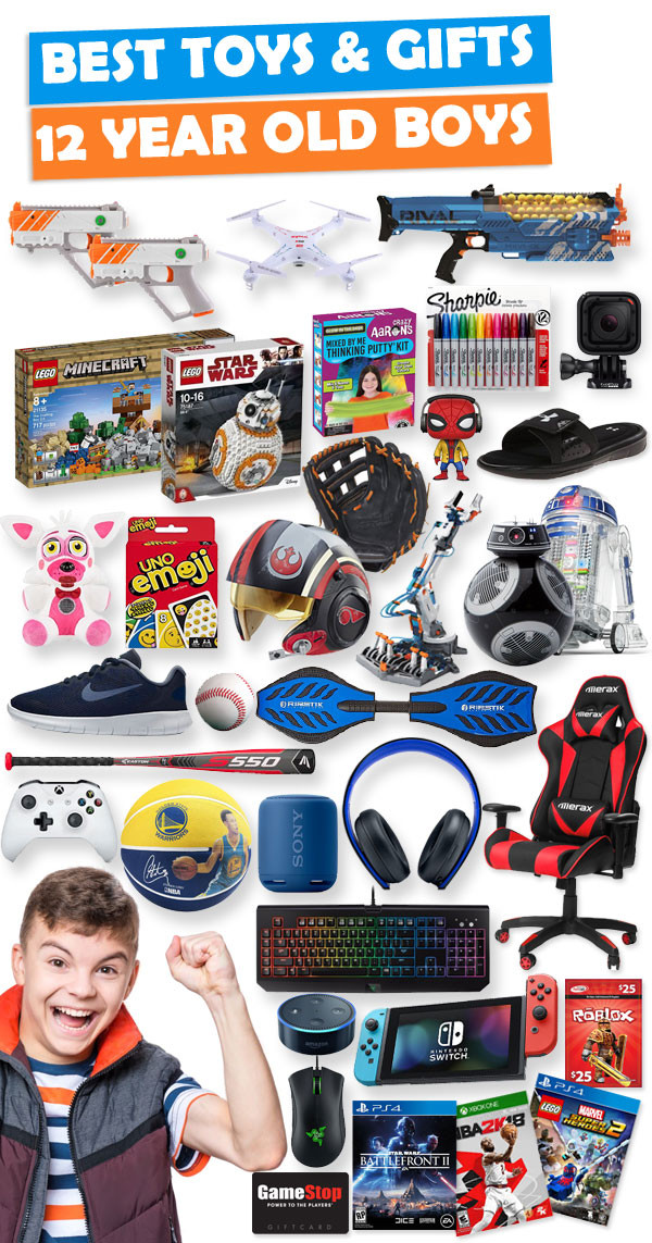 12 Year Old Boy Birthday Gifts  Gifts For 12 Year Old Boys [Gift Ideas for 2020]