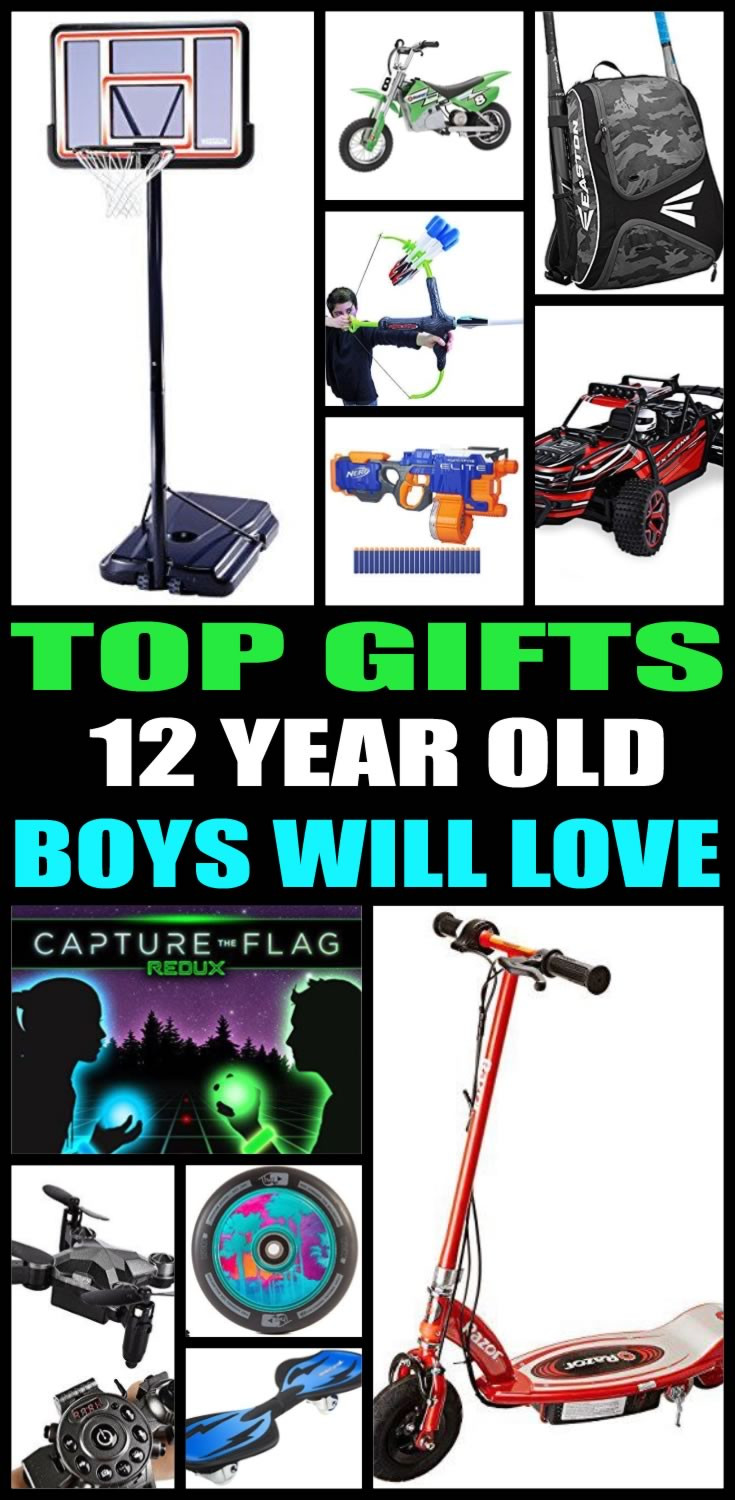 12 Year Old Boy Birthday Gifts  Best Gifts For 12 Year Old Boys