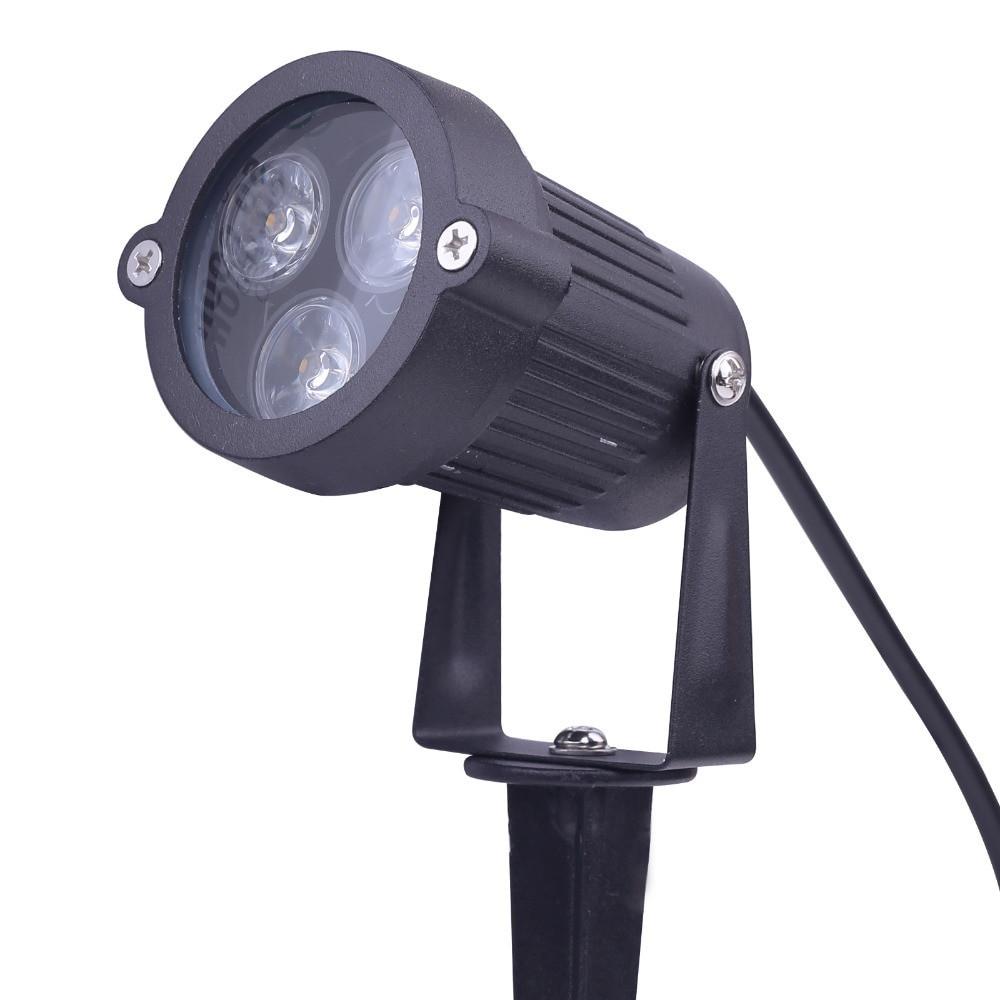 12V Landscape Lights  9w 12v LED Path Landscape light Lawn Flood spot Light Lamp