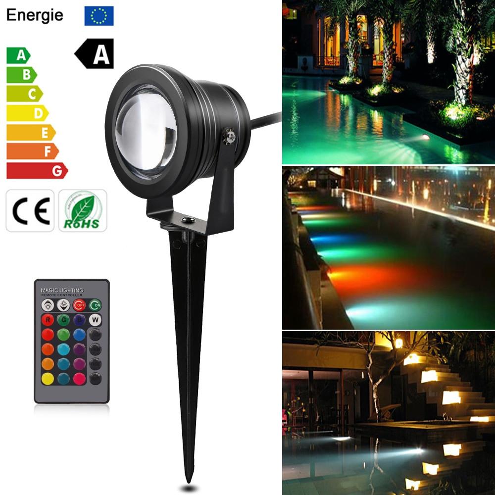 12V Landscape Lights  12V 10W LED Garden light tuinverlichting spot outdoor