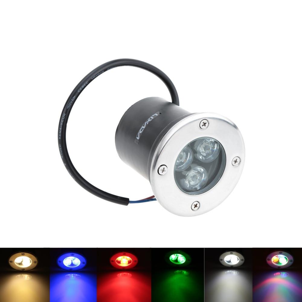 12V Landscape Lights  3W 12V DC IP67 Landscape Lighting LED Underground Light