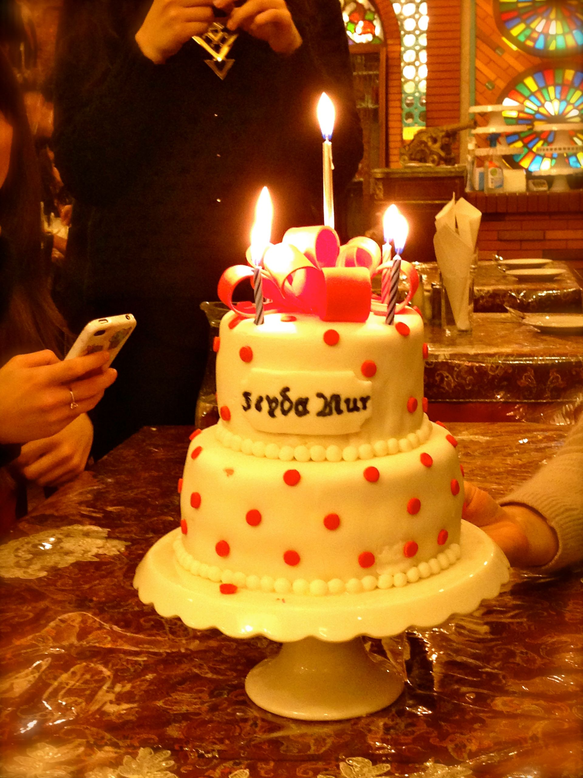 20 Birthday Cake  Seyda Nur's 20th Birthday Cake