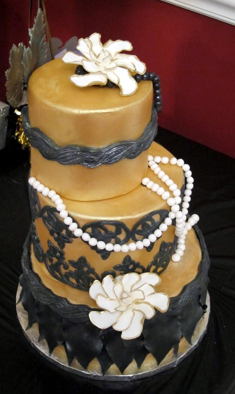 20 Birthday Cake  Cakegirl on the Run Roaring Twenties Birthday Cake