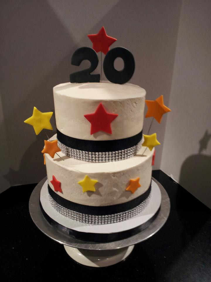 20 Birthday Cake  Becky Yeagle Birthday Cakes