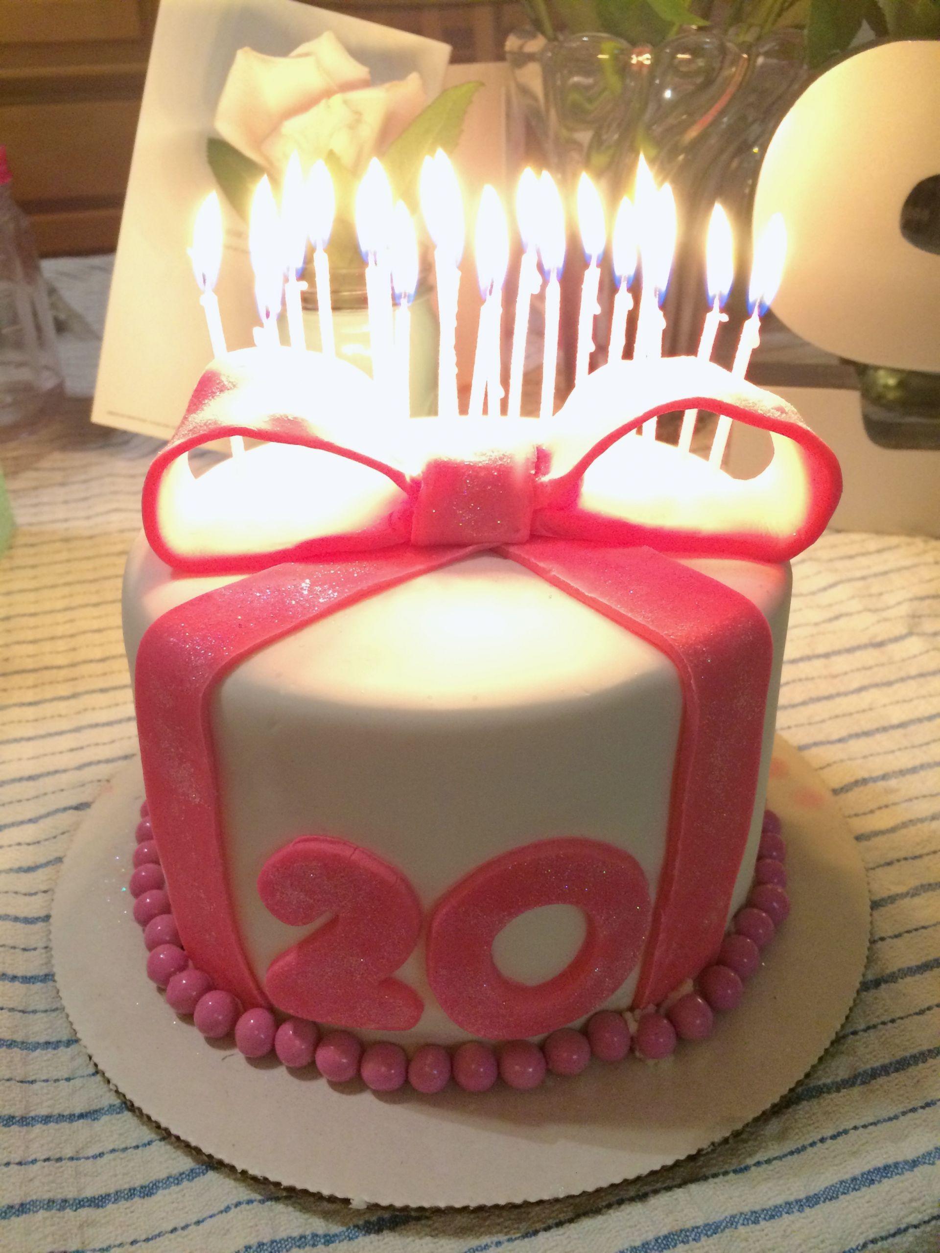 20 Birthday Cake  20th Birthday Duff's Cake Mix