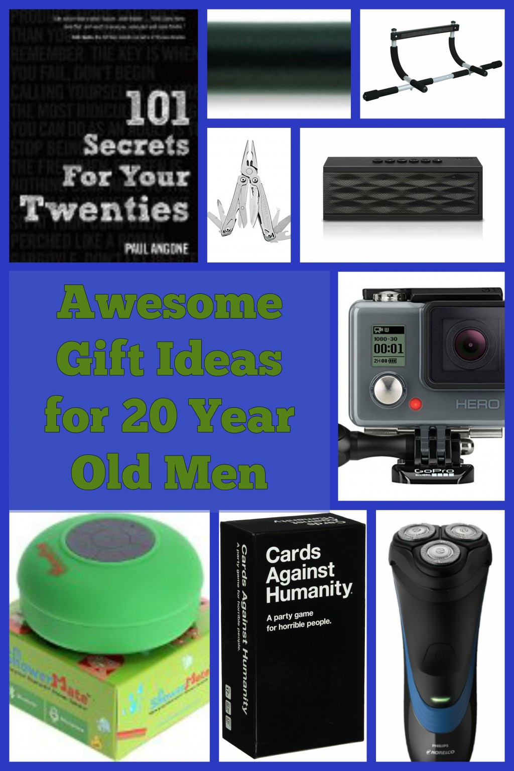 20 Year Old Birthday Gift Ideas  Best Gift Ideas for 20 Year Old Men
