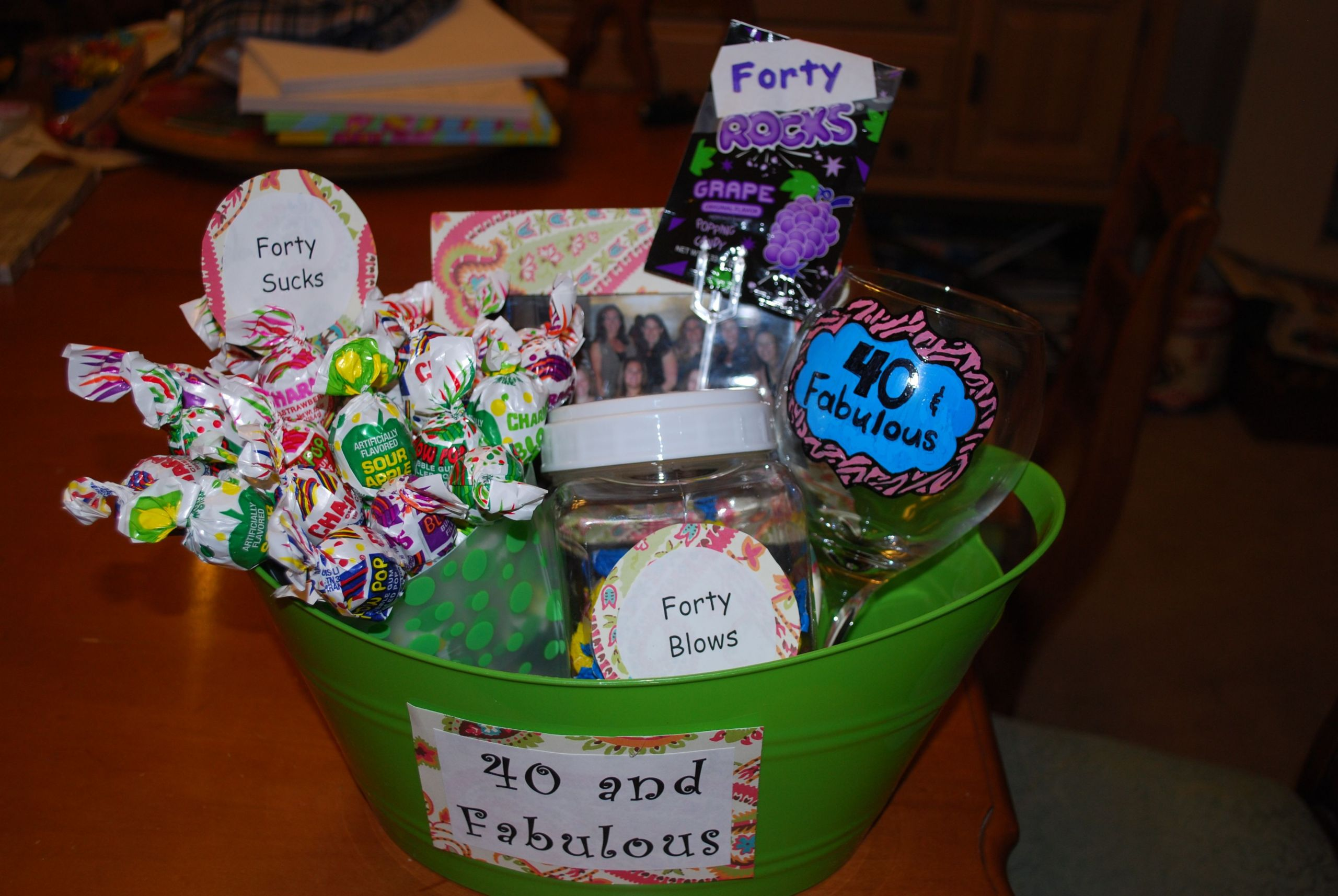40Th Birthday Gag Gift Ideas  40 birthday ideas t With images