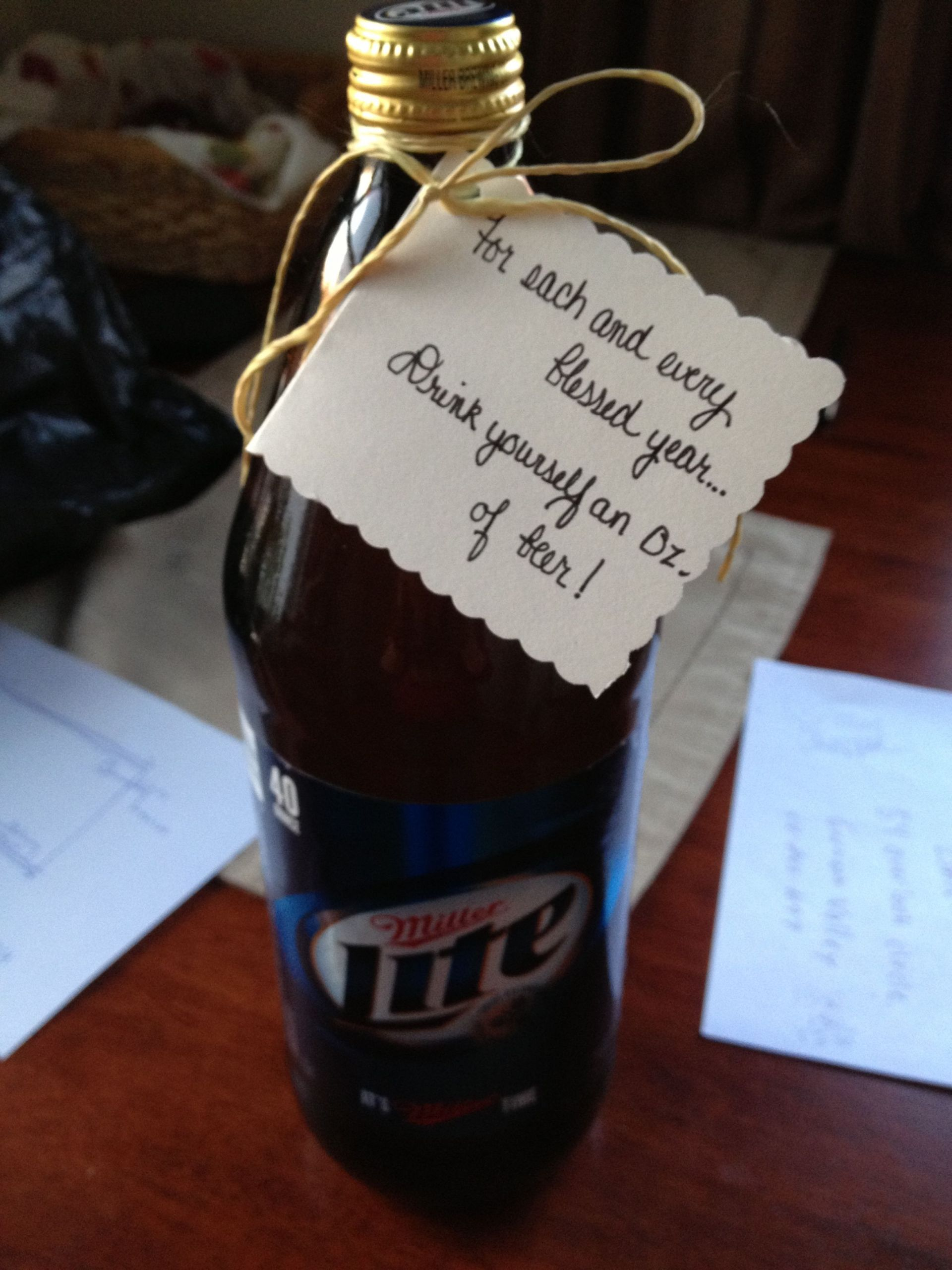 40Th Birthday Gag Gift Ideas  Pinterest