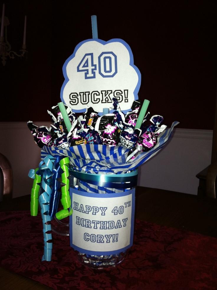 40Th Birthday Gag Gift Ideas  40th Birthday Gift Ideas DIY Design & Decor