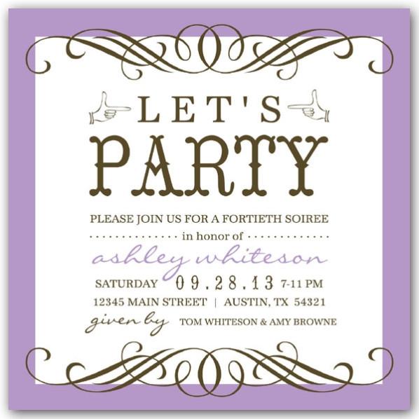 50th Birthday Invitation Wording  50th birthday party invitation wording – Bagvania