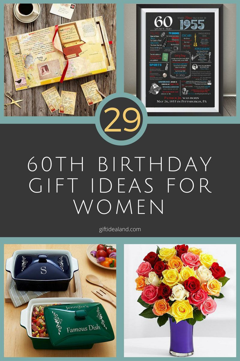 60Th Birthday Gift Ideas For.Women  29 Great 60th Birthday Gifts For Her