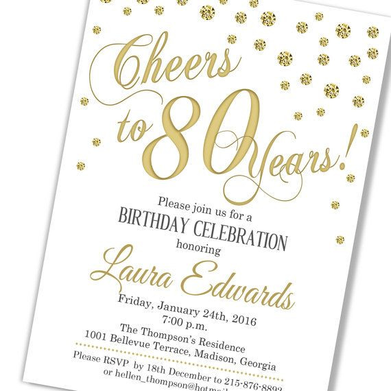 80th Birthday Invitation Wording  80th birthday invitations by Nomathemba Ntsangani on 80th