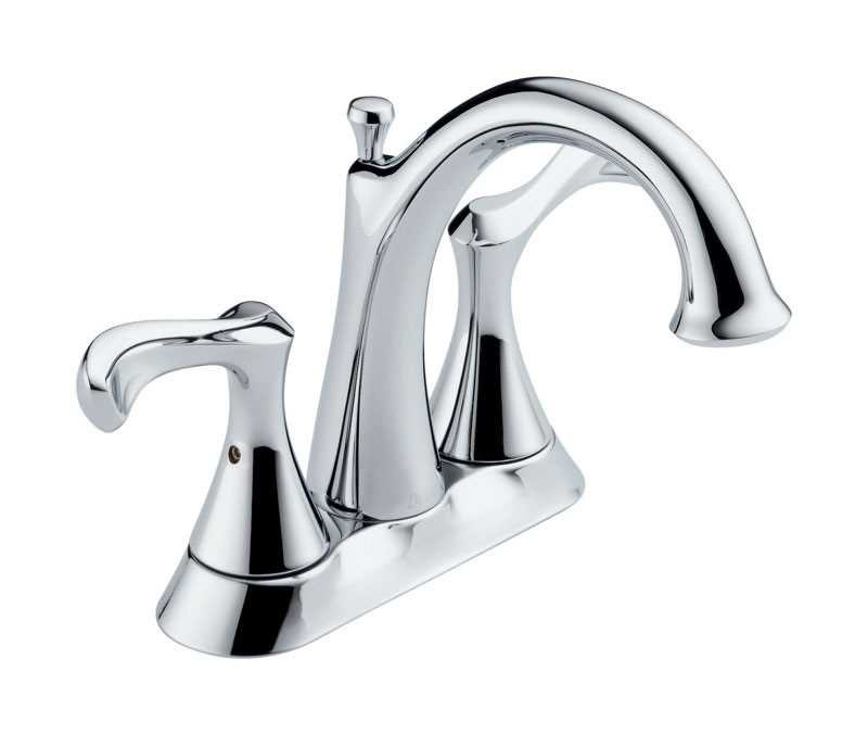 Ace Hardware Bathroom Faucets  Delta Carlisle Two Handle Laundry Faucet 4 in Chrome