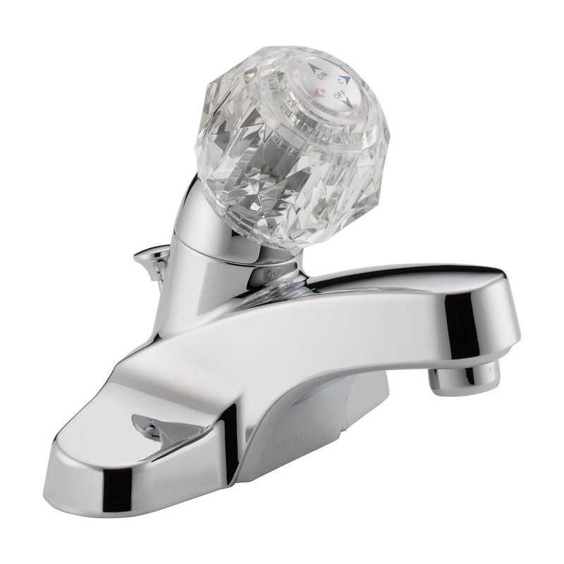 Ace Hardware Bathroom Faucets  Peerless Cartridge Single Handle Lavatory Faucet 4 in