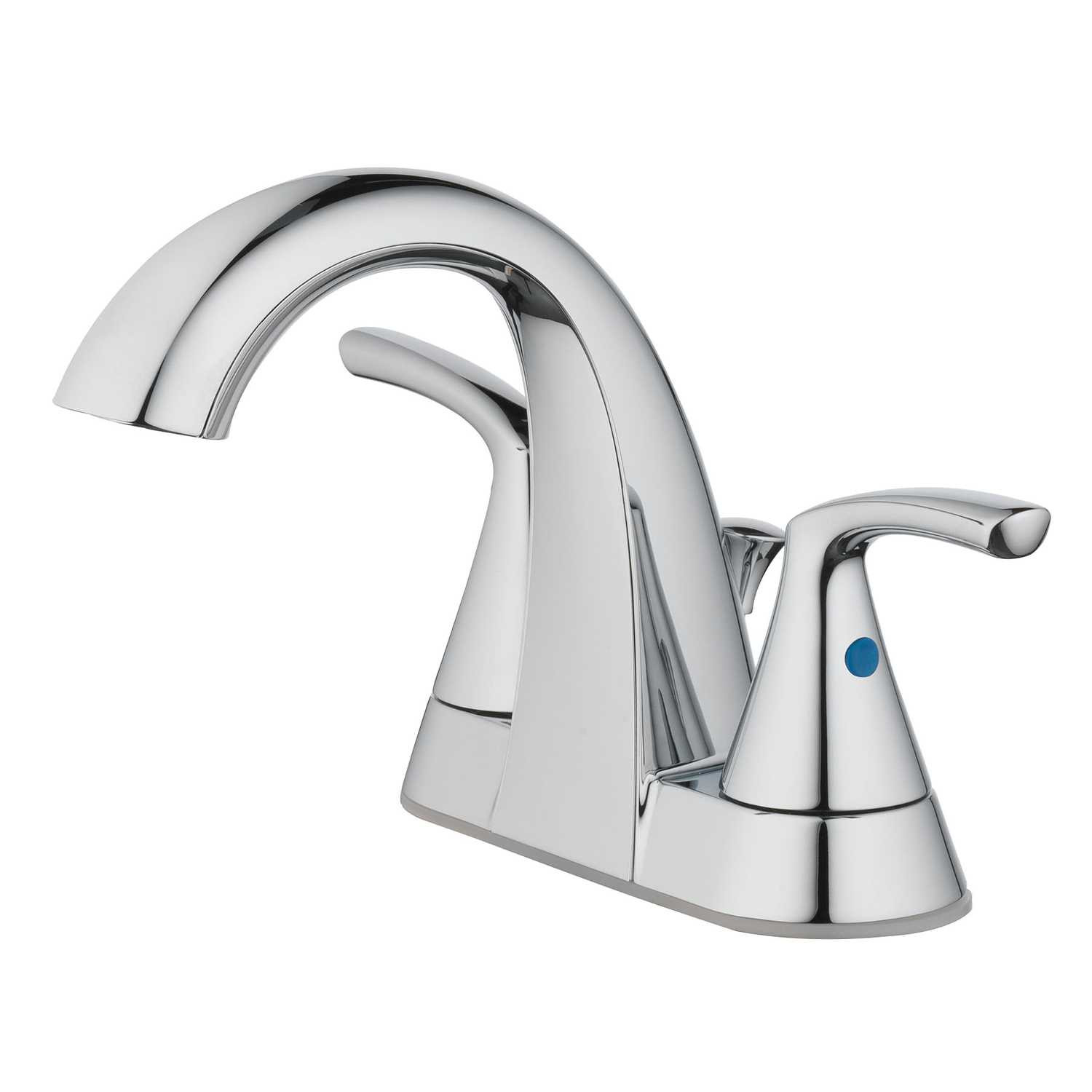 Ace Hardware Bathroom Faucets  OakBrook Pacifica Two Handle Lavatory Pop Up Faucet 4 in