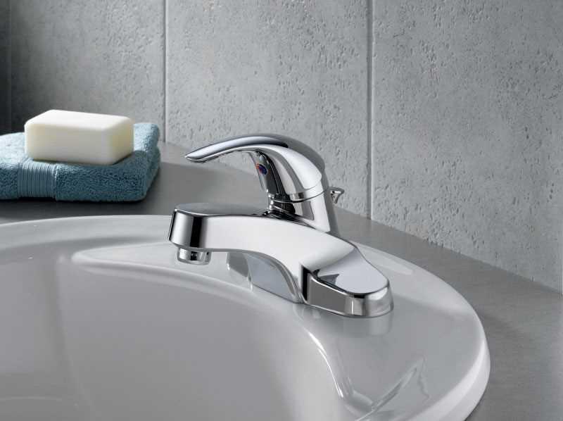 Ace Hardware Bathroom Faucets  Peerless Cartridge Chrome Single Handle Lavatory Faucet 4