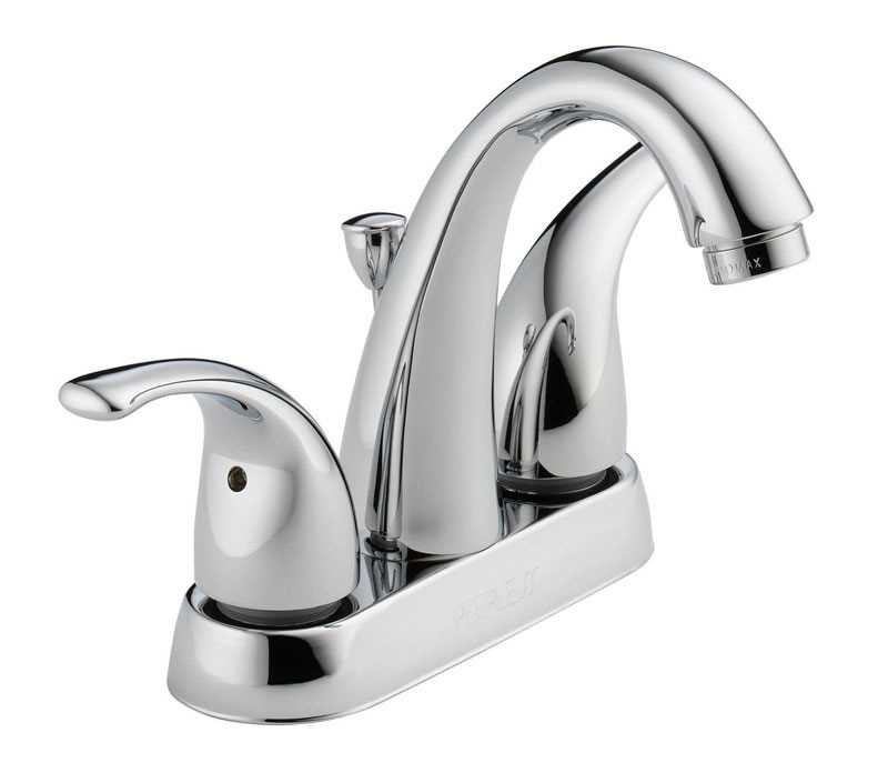 Ace Hardware Bathroom Faucets  Peerless Claymore Two Handle Lavatory Faucet 4 in Chrome