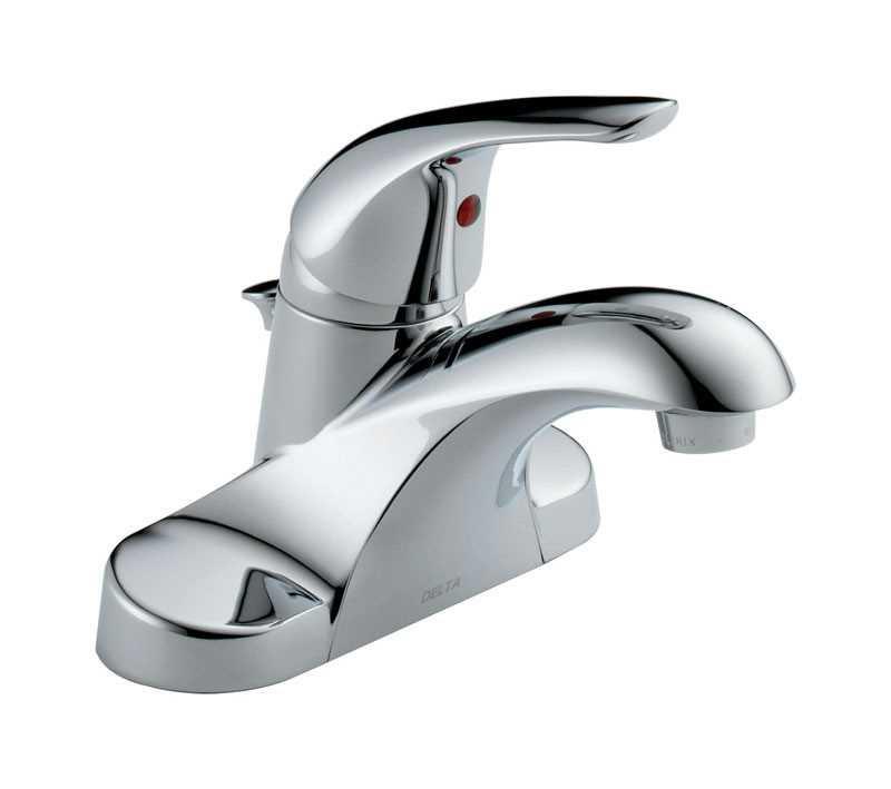 Ace Hardware Bathroom Faucets  Delta Foundations Single Handle Lavatory Pop Up Faucet 4