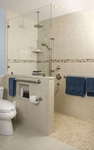 Ada Bathroom Layout With Shower  23 Bathroom designs with handicap showers MessageNote