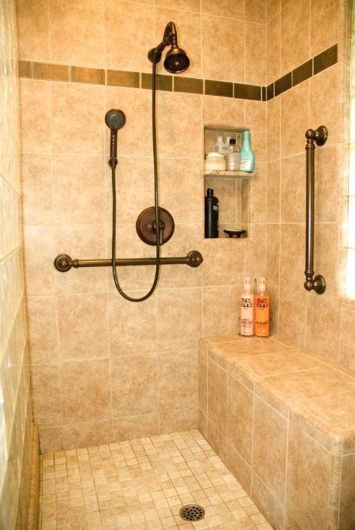 Ada Bathroom Layout With Shower  ADA Handicap Bathroom Philadelphia Tim Rocco & Daughters