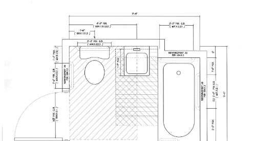 Ada Bathroom Layout With Shower  ADA pliant Bathroom Floor Plan Find ADA bathroom