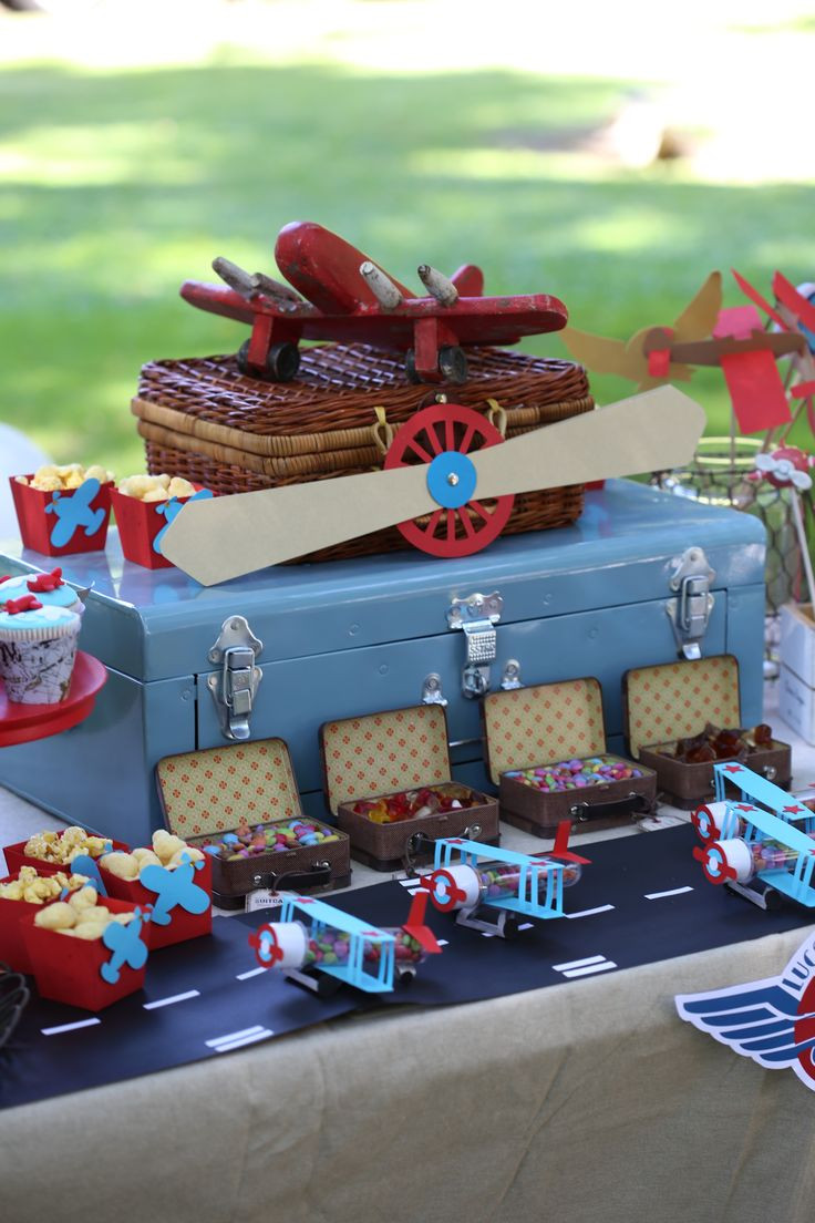 Airplane Birthday Party Ideas  Airplane Party Plane Party Airplane Party Ideas Garden