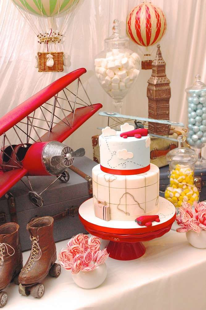 Airplane Birthday Party Ideas  343 best Airplane Party Ideas images on Pinterest