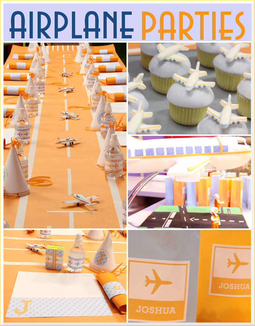Airplane Birthday Party Ideas  Airplane Birthday Party Inspiration