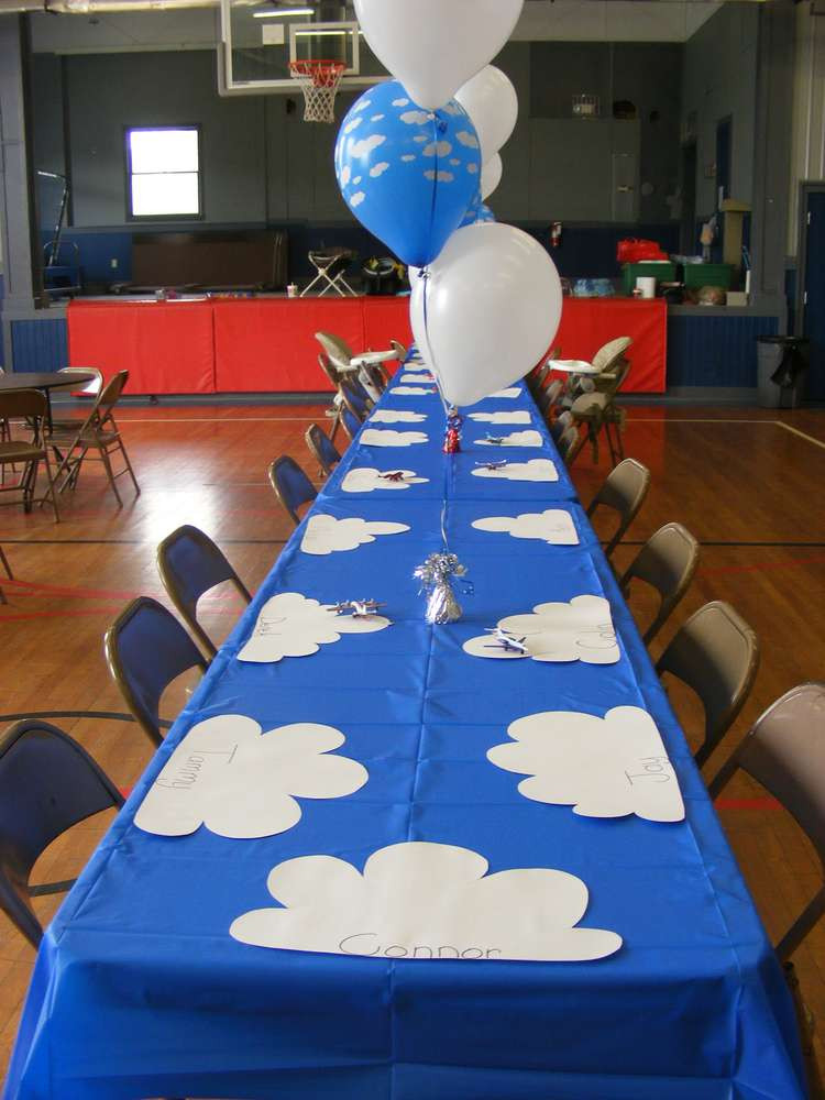 Airplane Birthday Party Ideas  Airplanes Birthday Party Ideas 20 of 21