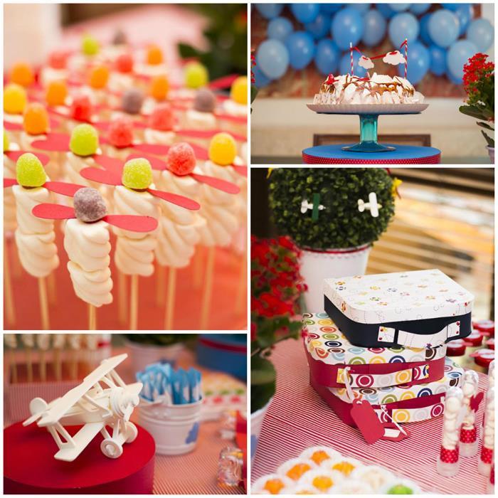Airplane Birthday Party Ideas  Kara s Party Ideas Airplane Party Ideas Planning Idea Cake