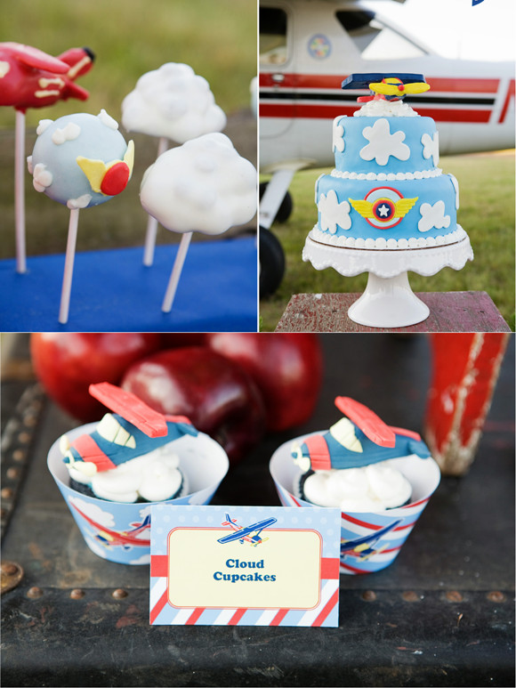 Airplane Birthday Party Ideas  Little Pilot