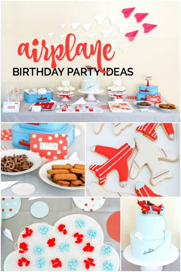 Airplane Birthday Party Ideas  Airplane Birthday Party Spaceships and Laser Beams