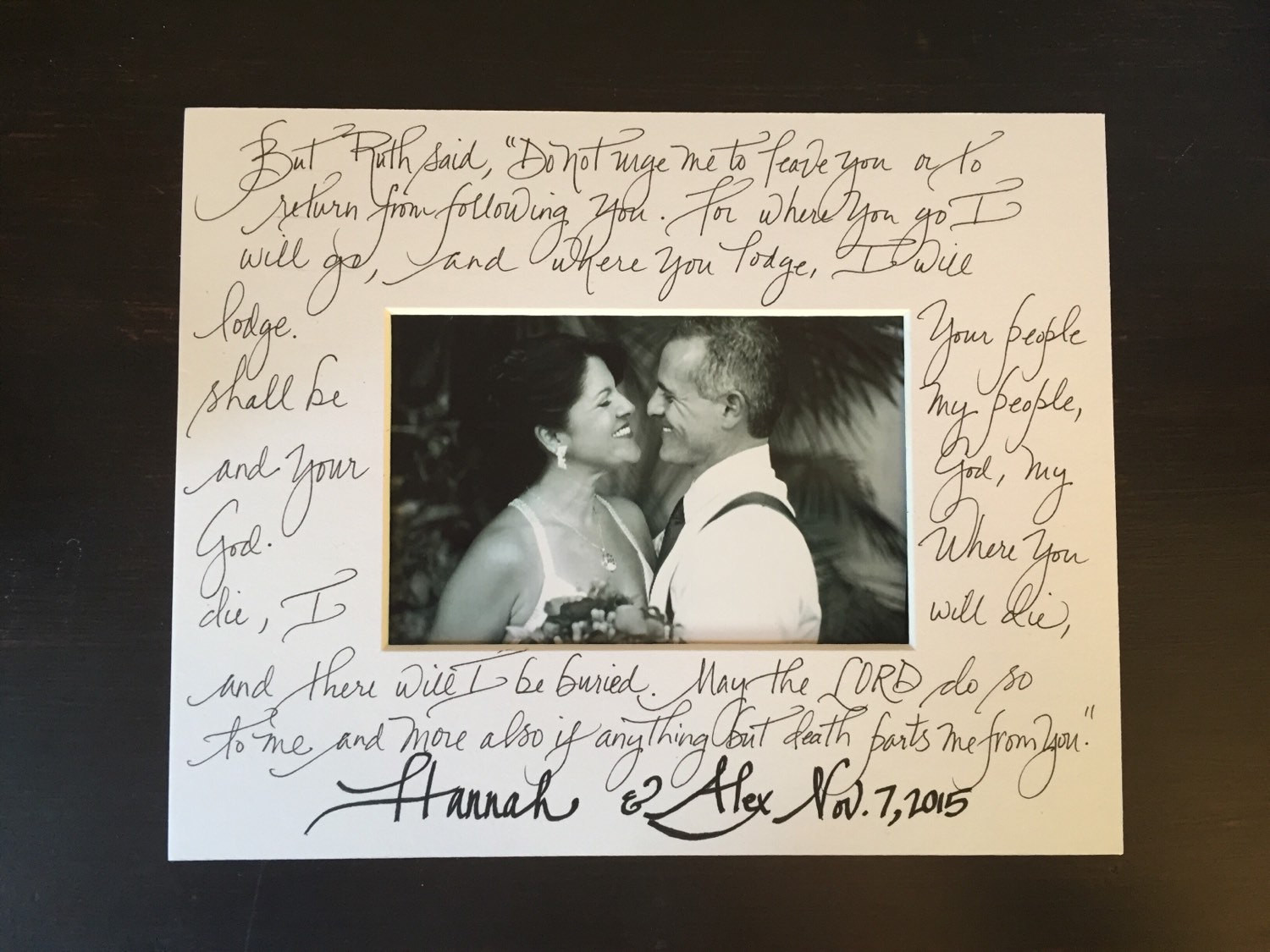 Are Wedding Vows In The Bible  Custom lyrics calligraphy bible verse wedding vows song