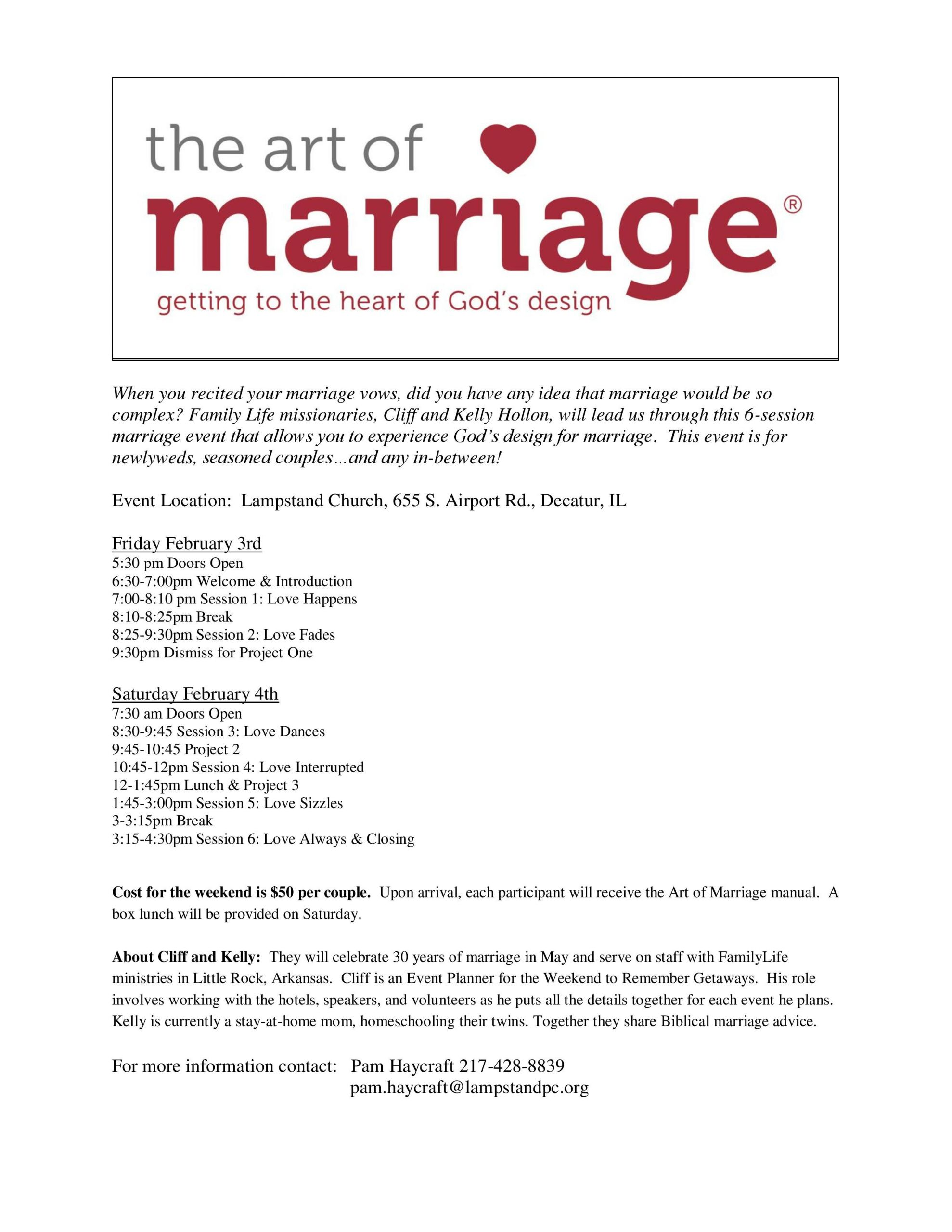 Are Wedding Vows In The Bible  The Art Marriage – Lampstand Church