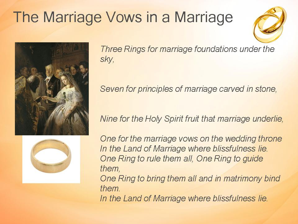Are Wedding Vows In The Bible  Random Musings from a Doctor s Chair The Marriage Vows