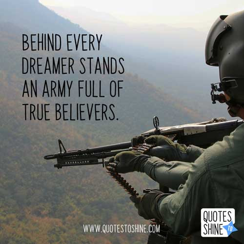 Army Leadership Quotes  Inspirational Military Quotes About Leadership And Life