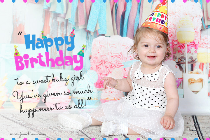 Baby Birthday Wishes  106 Wonderful 1st Birthday Wishes And Messages For Babies