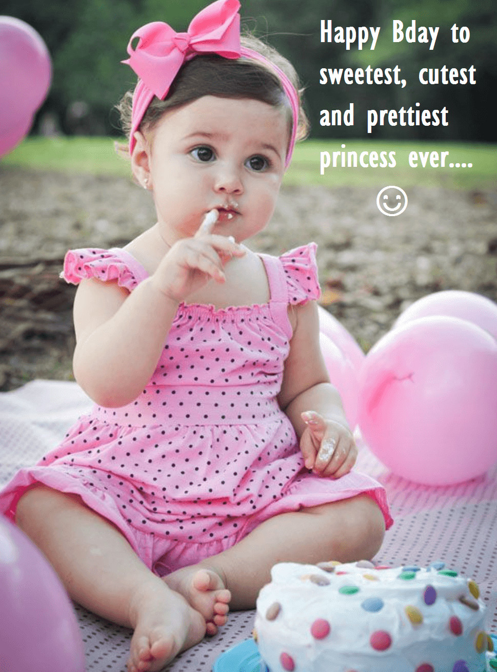 Baby Birthday Wishes  Cute Birthday Cake Wishes For Baby e Year Old