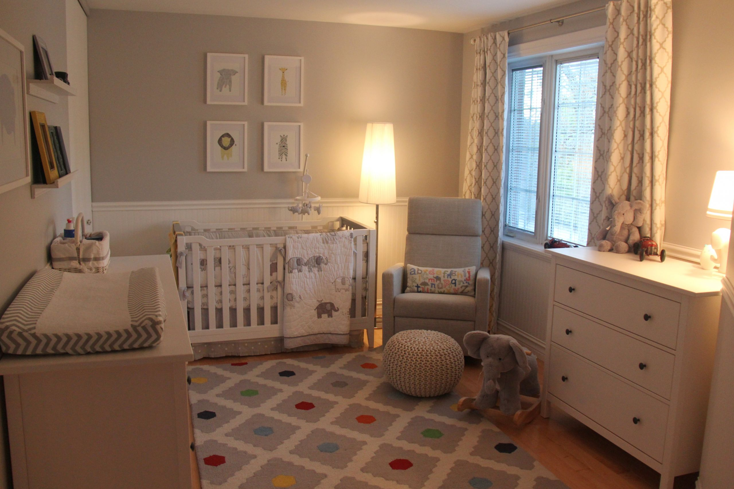 Baby Boy Room Decorations  Our Little Baby Boy s Neutral Room Project Nursery