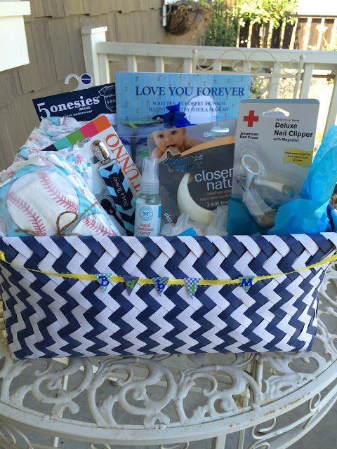 Baby Gender Reveal Gift Ideas  Baby Baskets Great for gender reveal ts Baby Showers