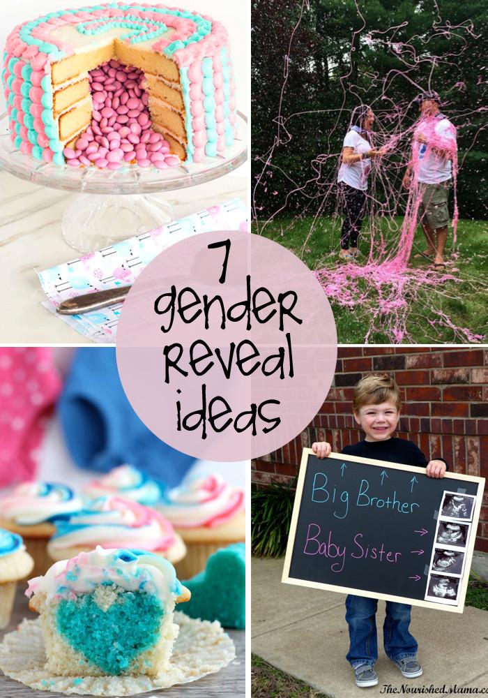Baby Gender Reveal Gift Ideas  7 great gender reveal ideas
