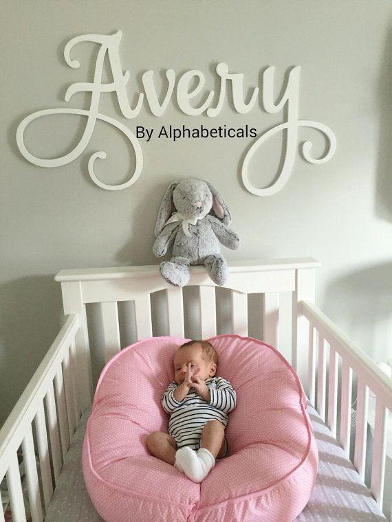 Baby Name Wall Decor  Nursery Names Wall TheNurseries