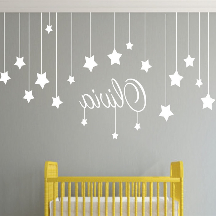 Baby Name Wall Decor  15 Best Collection of Baby Name Wall Art