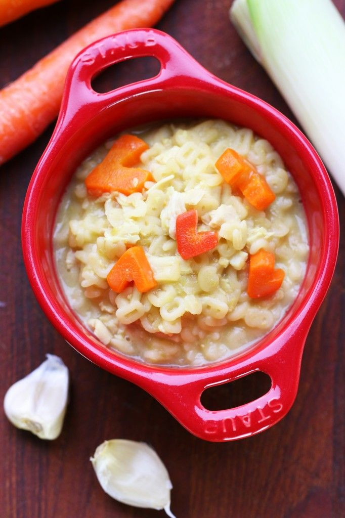 Baby Pastina Recipes  Chicken soup with noodles pasta recipe how to boost