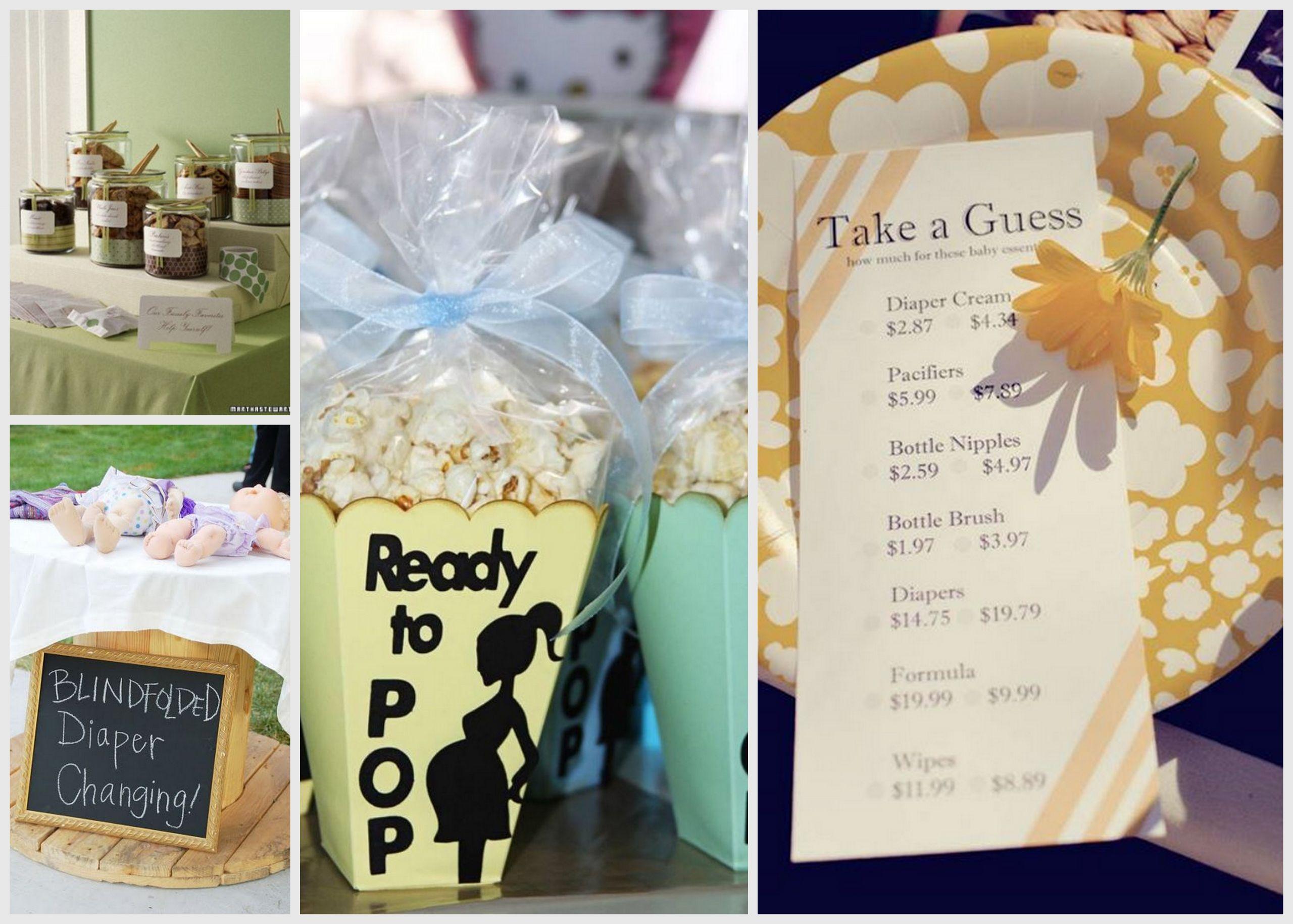 Baby Shower Games Gift Ideas Winners  Centerpiece