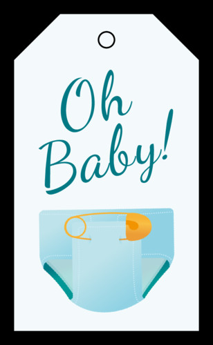 Baby Shower Gift Tag Template  Baby Shower Label Templates Get Free Downloadable Baby