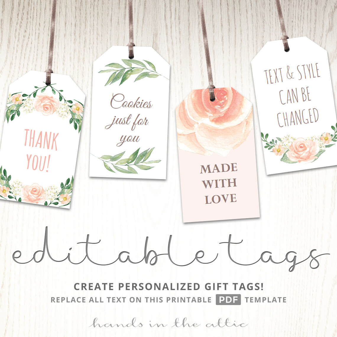 Baby Shower Gift Tag Template  Printable Baby Shower Labels