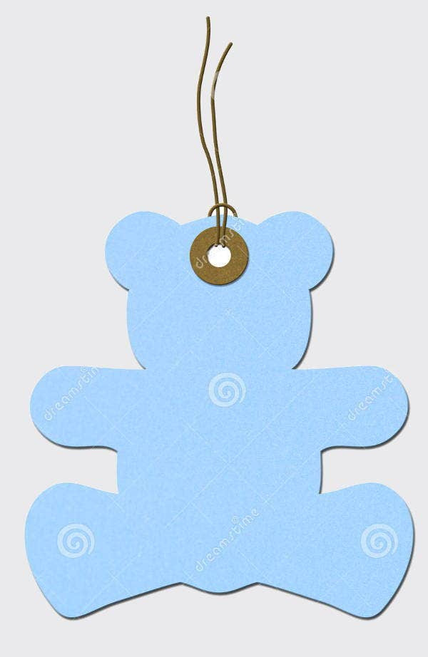 Baby Shower Gift Tag Template  9 Baby Shower Gift Tags PSD Vector EPS