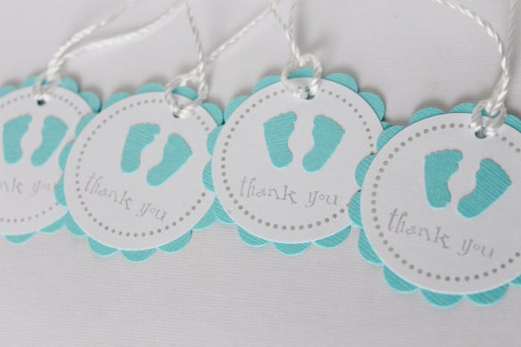 Baby Shower Gift Tag Template  26 Favor Tag Templates – Free Sample Example Format